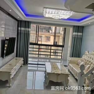 東門三站旁明鏡湖小區(實用面積)120平米,四室二廳,新裝未住