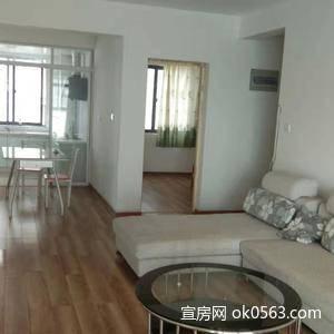 万宇新城3室2厅2卫140.7平方 简装, 设施齐全 无税