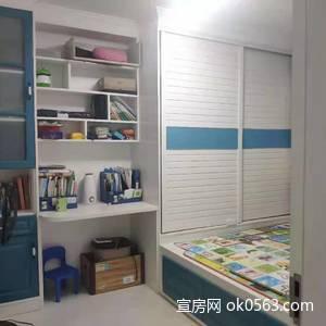 開達名城E區多層1樓,面積81.19平米,精裝,兩室兩廳